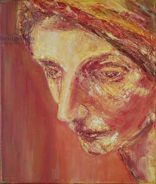Beatrice (oil on canvas)