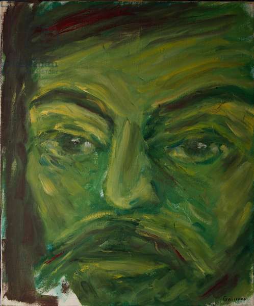 Shakespeare, Capulet, from 'The Faces of Shakespeare' (oil on canvas)