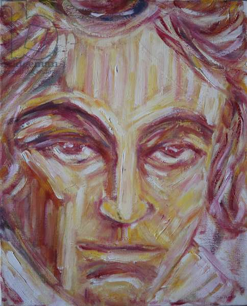Beethoven (oil on canvas)