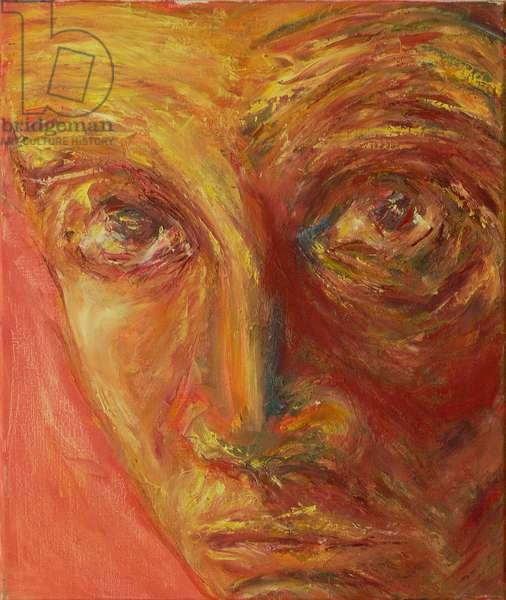 Egon Schiele (oil on canvas)