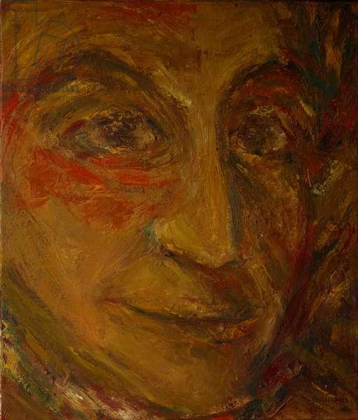 J.S. Bach (oil on canvas)