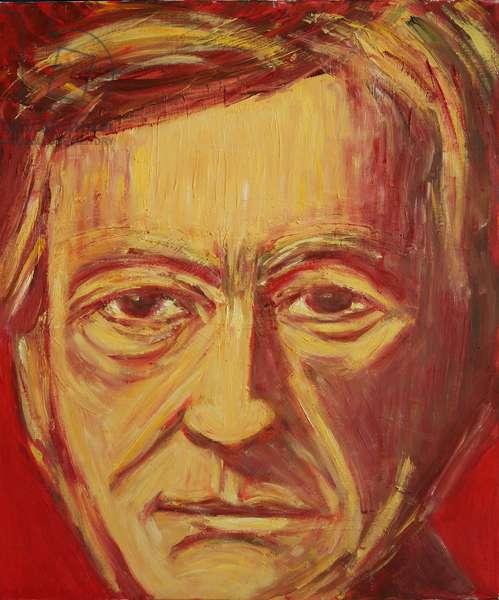Richard Wagner (oil on canvas)