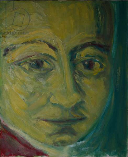 Mozart, from 'Mozart the Symphonist' (oil on canvas)