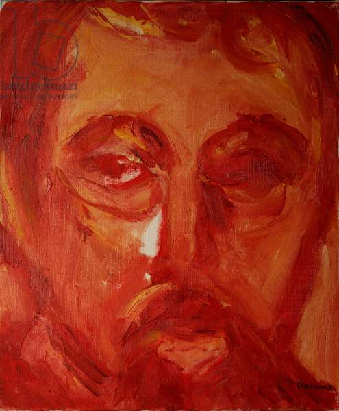 Mussorgsky (oil on canvas)