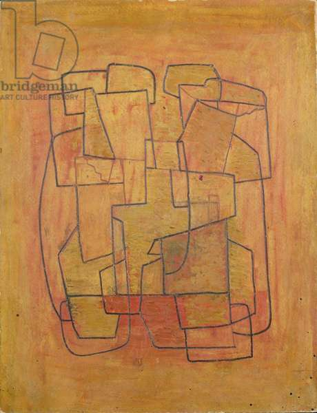 Abstract Painting 2, 1938 (pencil, ripolin on board)