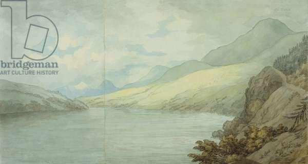 Loch Tay near Kenmore (w/c on paper)