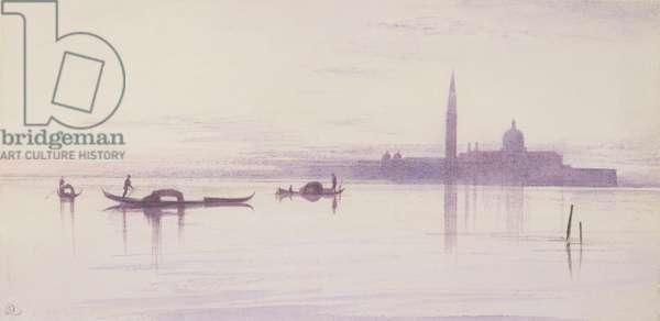 San Giorgio Maggiore from the Lagoon, Venice