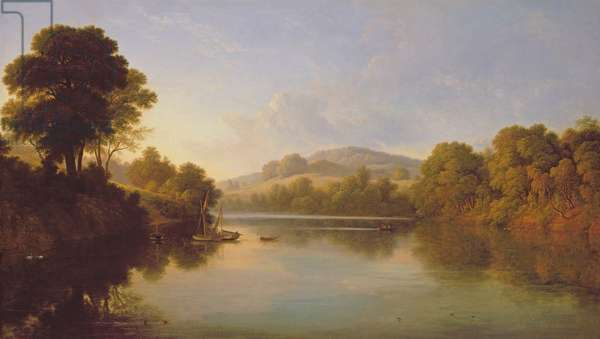 Great Barr, Staffordshire (oil on canvas)