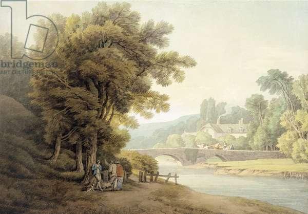 Dunsford Bridge (w/c on paper)