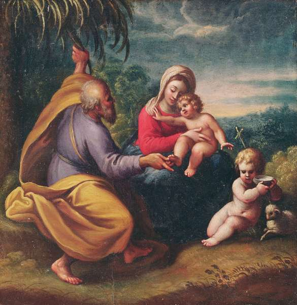 Holy Family, Parma, 2nd half 16th century
