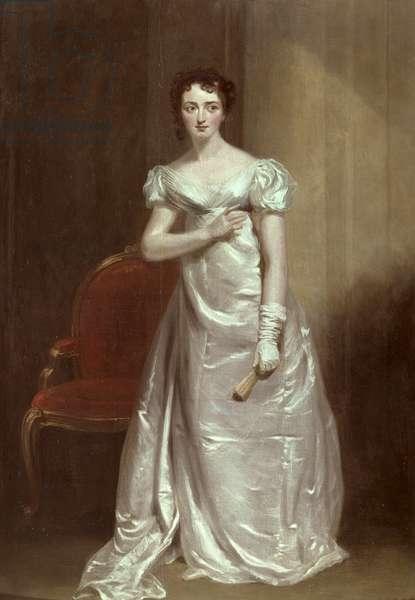 Portrait of Harriet Smith as Miss Dorillon (oil on panel)