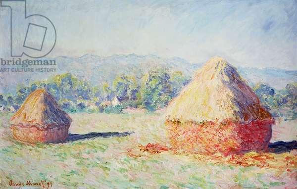 Haystacks in the Sun, Morning Effect, 1891