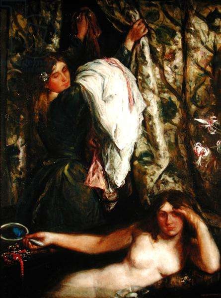 The Bath, 1908 (oil on canvas)
