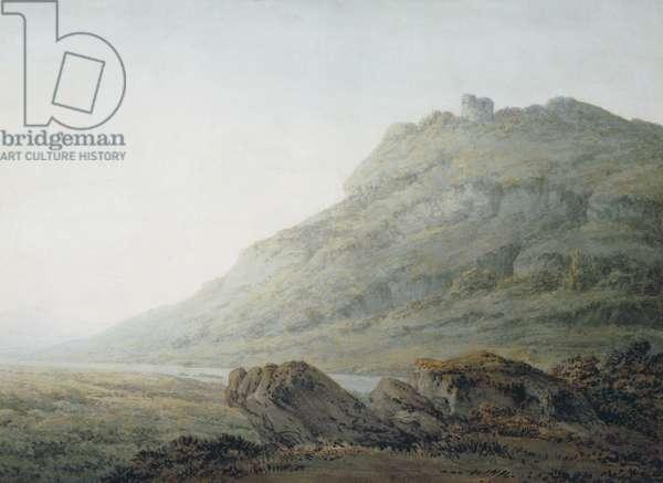 The Peak at Castleton, Derbyshire (w/c on paper)
