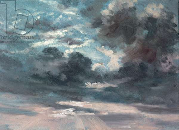 Cloud Study (oil on canvas)