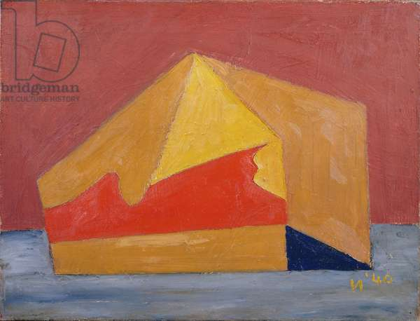 Tent, 1940 (ripolin and unidentified medium on canvas)
