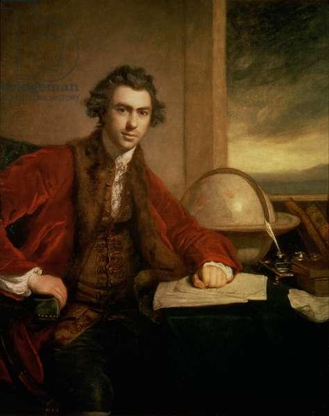 Sir Joseph Banks (1743-1820), 1771-72 (oil on canvas)