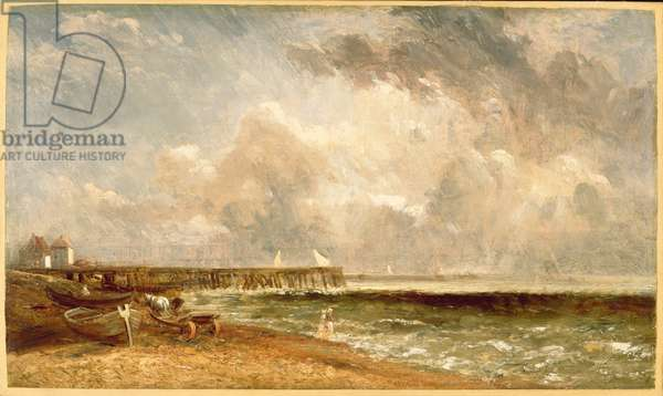 Yarmouth Jetty, c.1822 (oil on canvas)