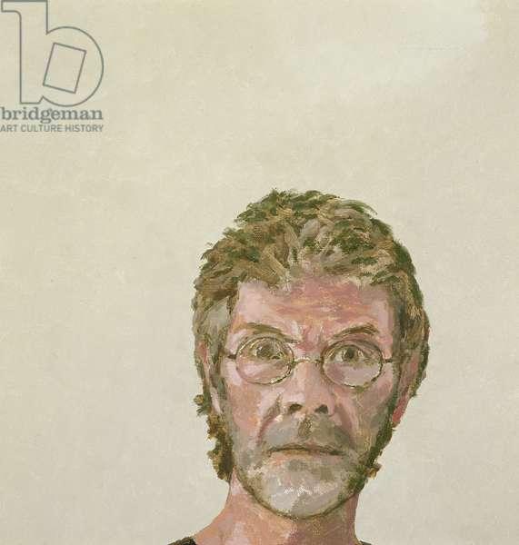 Self Portrait II (oil on canvas)