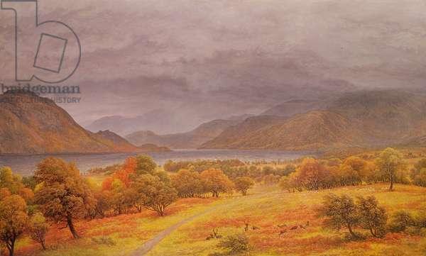 Ullswater (oil on canvas)