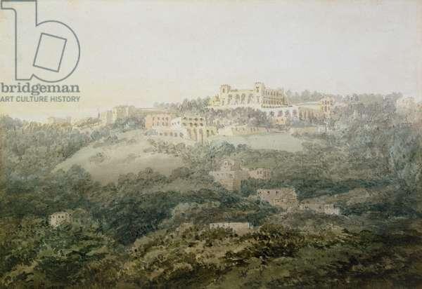 Monte Cassino (w/c on paper)