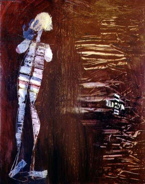 Woman and Mangroves, 1957 (polyvinyl acetate on hardboard)