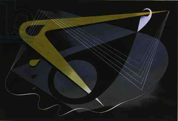 Diagram and Force, 1939 (gouache on paper)