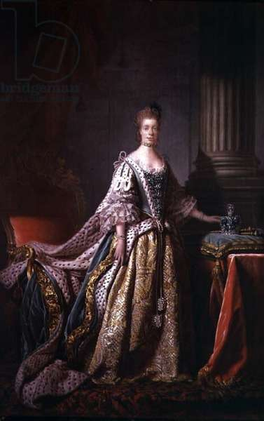 Queen Charlotte, 1762-66 (oil on canvas)