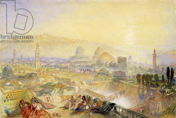 Jerusalem from the Latin Convent (w/c on paper)