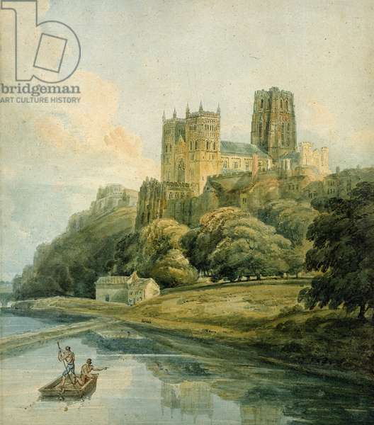 Durham Cathedral (w/c on paper)