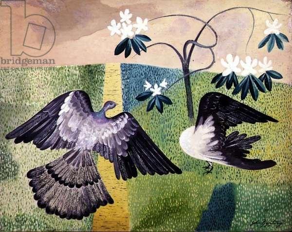Pigeons on the Grass, Alas!
