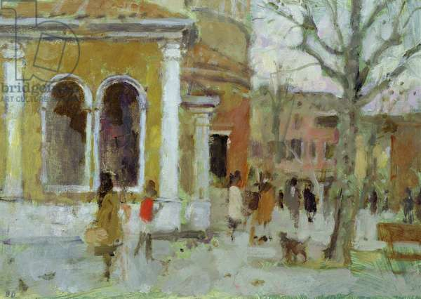 Campo S. Giacomo dell'Orio I (oil on panel)