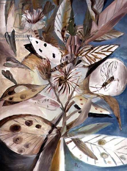 Desert Flower, 1949 (ripolin on board)