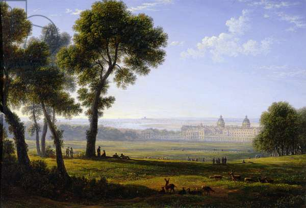 Greenwich (oil on panel)