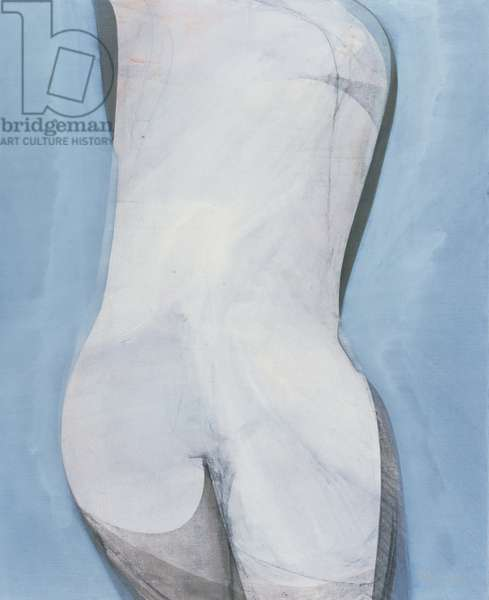 Nude Back (oil on canvas)