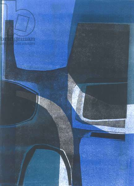 Arches, 2015, (monoprint on paper)