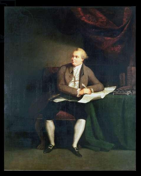 Daniel Carl Solander, Swedish Botanist, accompanied Sir Joseph Banks on Captain Cook's First Voyage (1768-71)