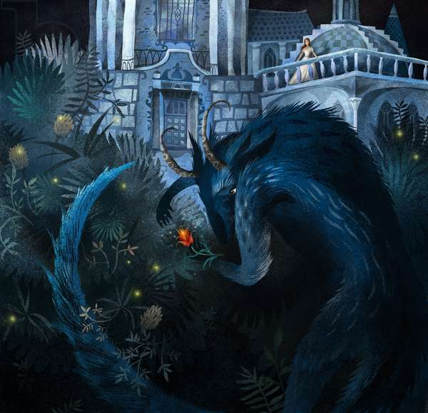 Beauty and the Beast, 2014 (Mixed media)