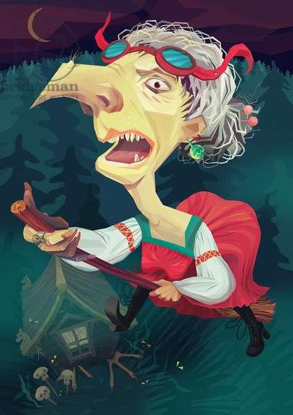 Witch, 2012, (digital)