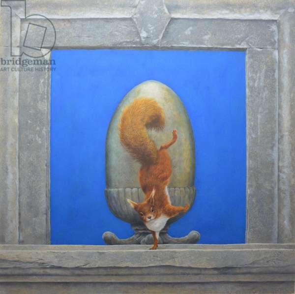 Red Squirrel, L'acrobata