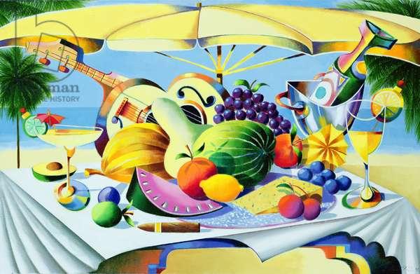 Tropical Still Life, 1997 (oil on canvas)