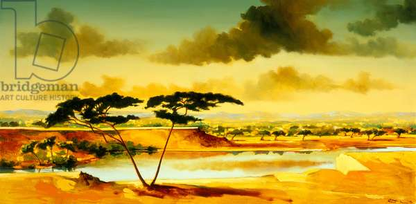 The Jewel of Hlubluwe, South Africa .1996 (oil on canvas)
