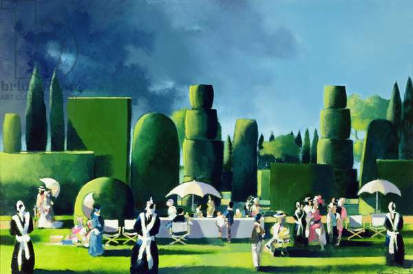 The Garden Party, 1990 (oil on canvas)