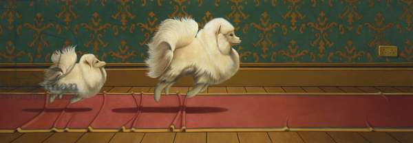 Pom,Tiddely-pom, 2016, (oil on linen)