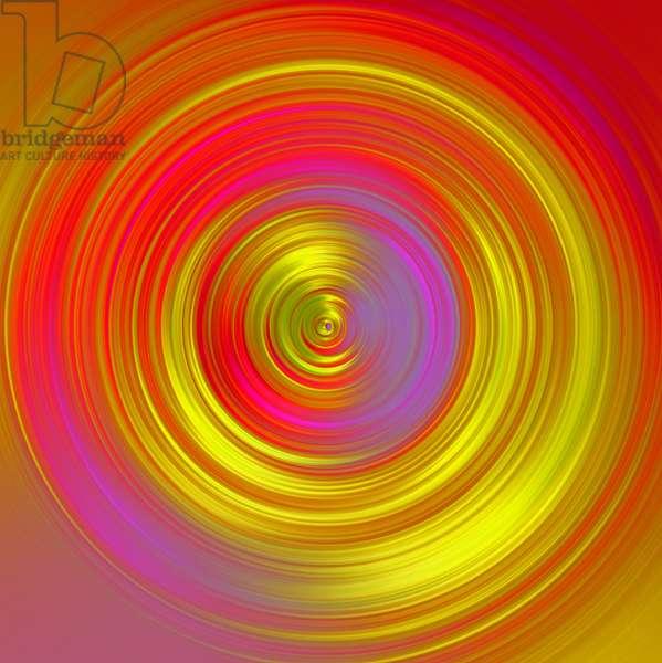 Golden wheel,2017,(mixed media)