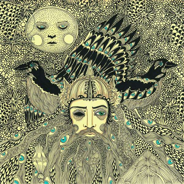 Odin, 2014, (pen and ink on paper)