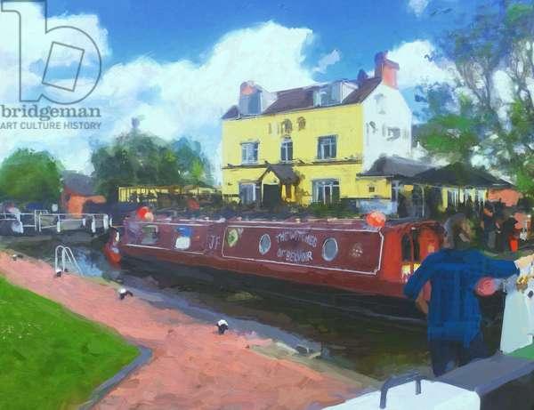 canal summer - 2