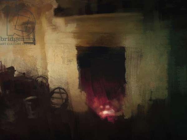 irish cottage series - fireplace