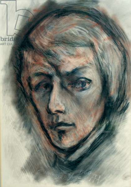Chopin, 1960 (oil on canvas)