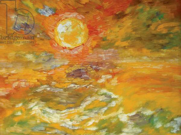 Mama's Sunset, 1966 (oil on canvas)